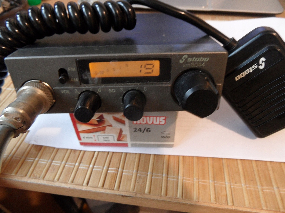 CB RADIO Stabo xm- 4300 w pełni sprawne - gwarancj