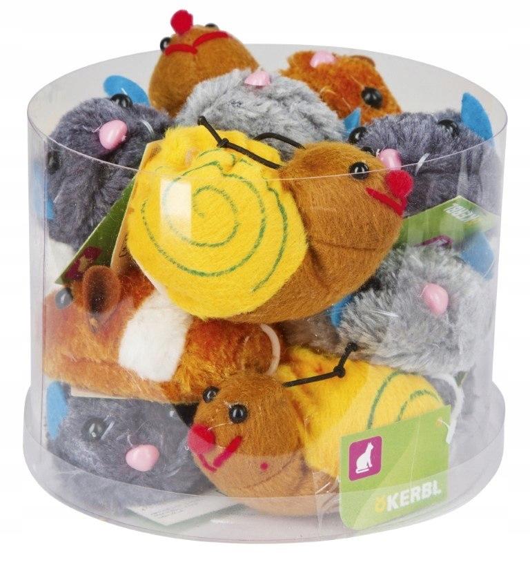KERBL Zabawka dla kota Zwierzaki Pluszowe, 7 cm [8