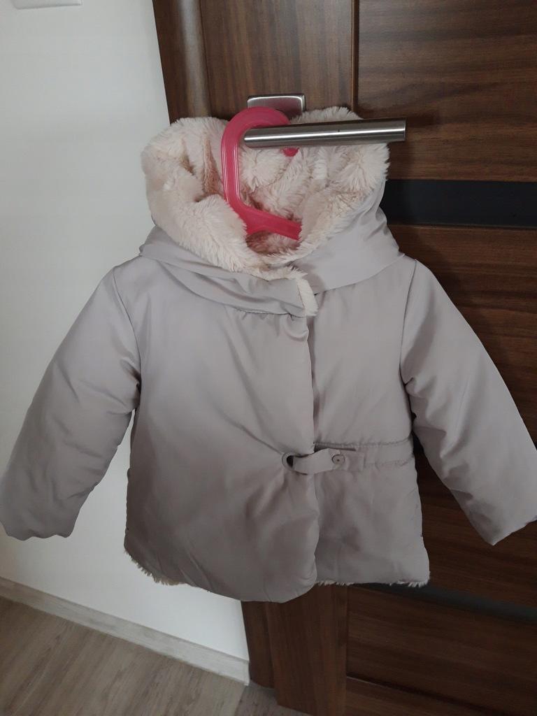 Płaszczyk zimowy, kurtka ZARA rozm. 98