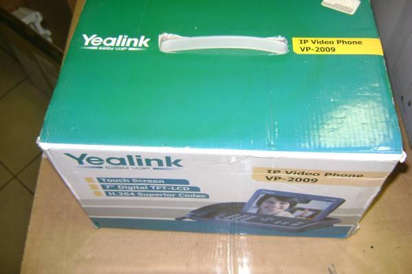 YEALINK VP2009 wideotelefon IP na 4 linie VoIP