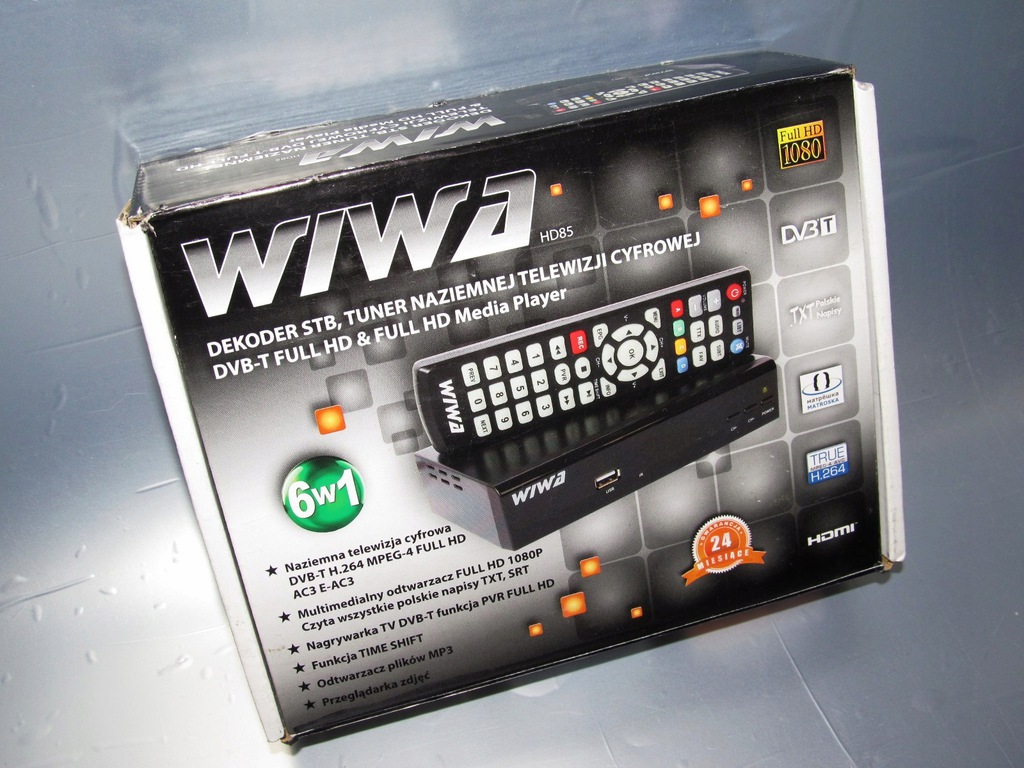 Dekoder DVB-T WIWA HD85