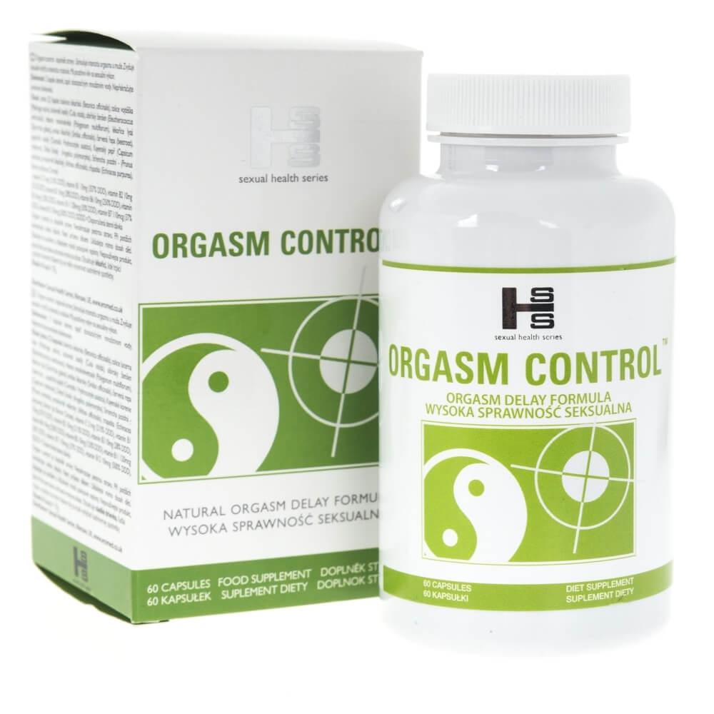SHS Orgasm Control - 60 kapsułek - DOZNANIA SEKSU