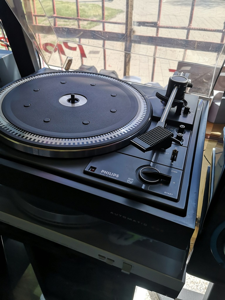 Philips 406 Dual Thorens gramofon