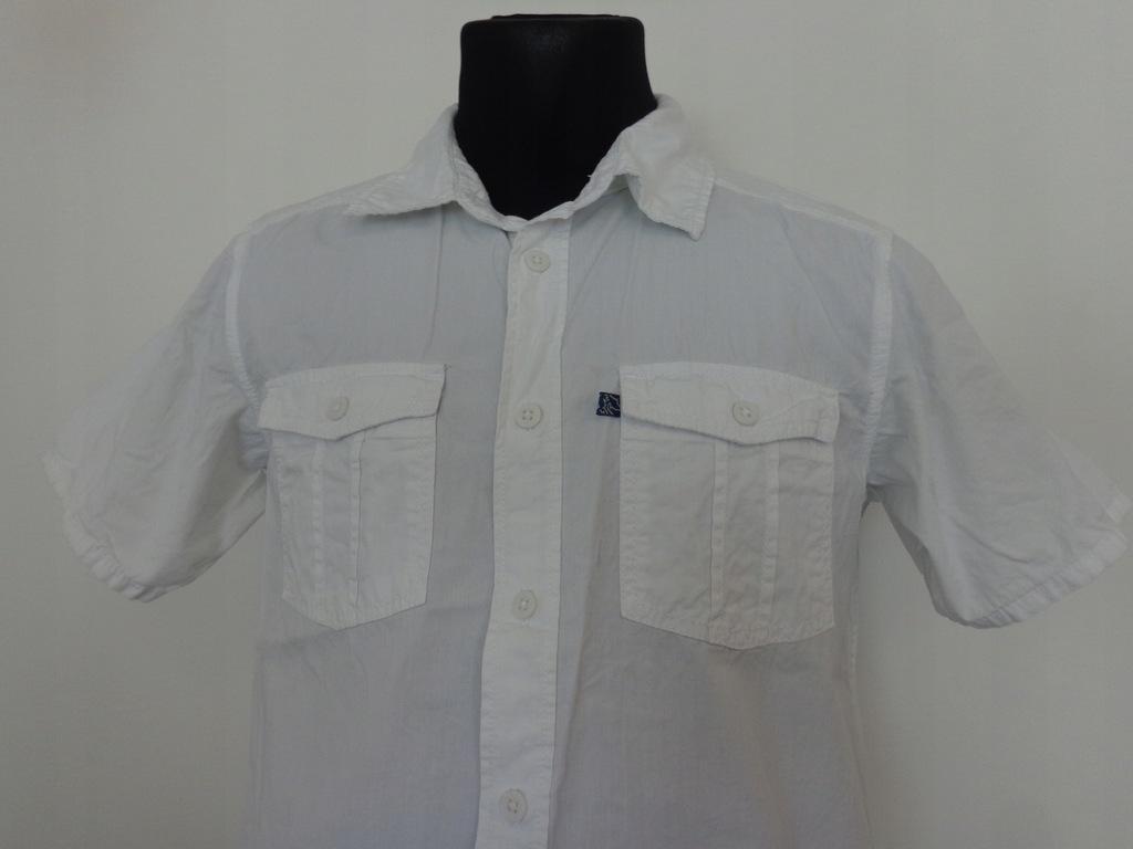 Biała koszula H&M YOUNG roz. 170/84