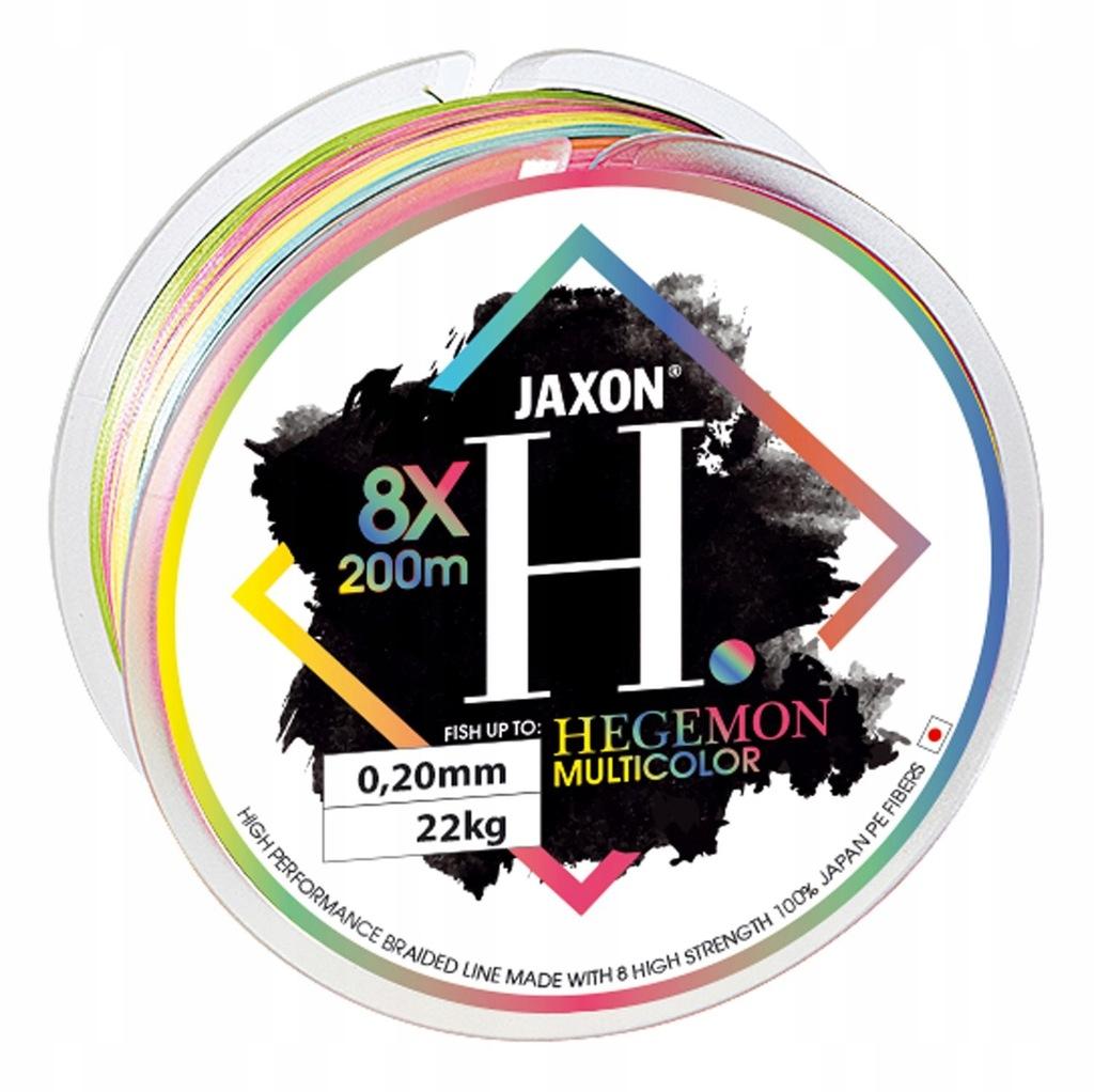 Plecionka Jaxon Hegemon 8X Multicolor 025 200m