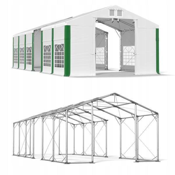 6x13m 2,5-3,6m Namiot ogrodowy mocny komunijny