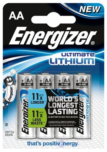 BATERIE LITOWE ENERGIZER L91 ULTIMATE R6 AA