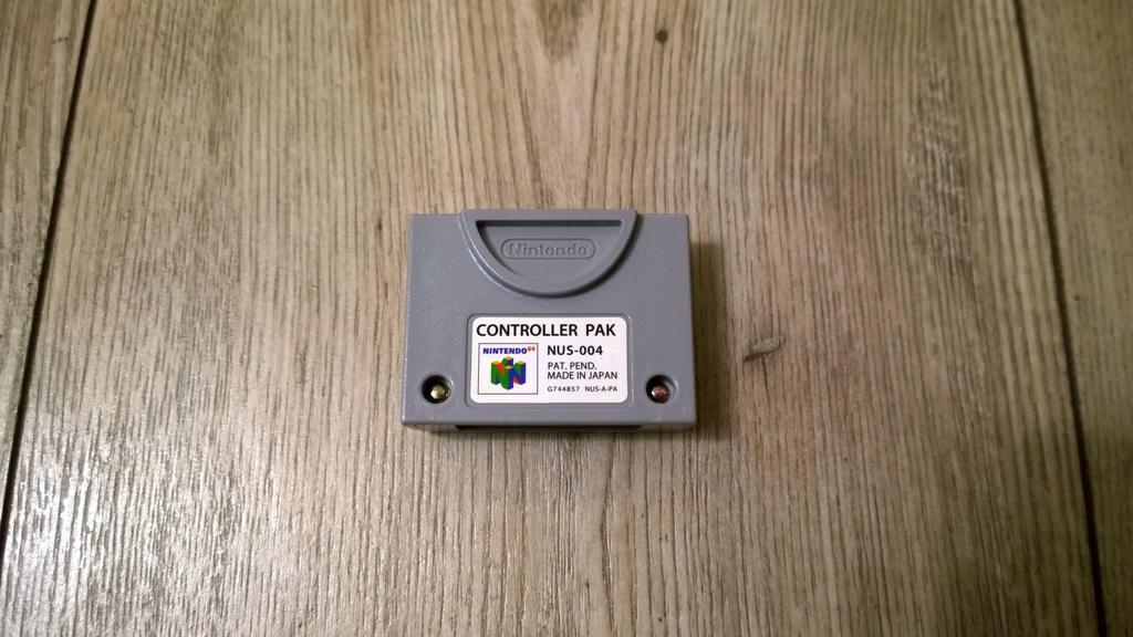 CONTROLLER PACK NUS-004 NINTENDO 64 # KARTA N64 #2