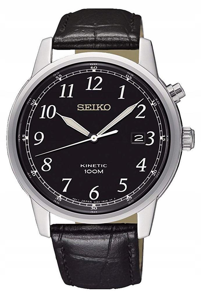 Zegarek SEIKO SKA781P1 kinetyczny datownik