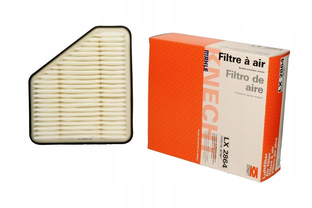 Mahle LX2864 OE Air Filter for Toyota Avensis Auris 178010R030 1780126020