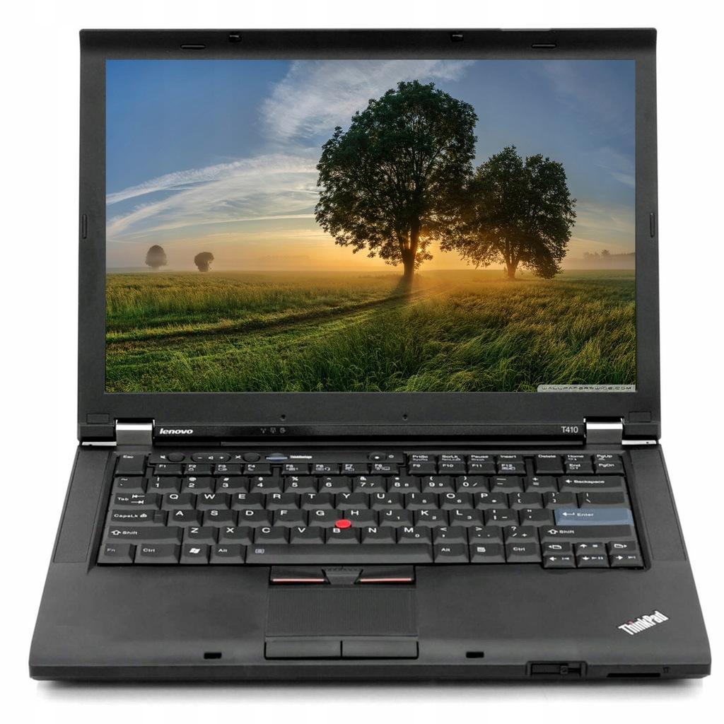 Laptop Lenovo T410 I5 4gb 320gb Windows 7 14 8545017011 Oficjalne Archiwum Allegro