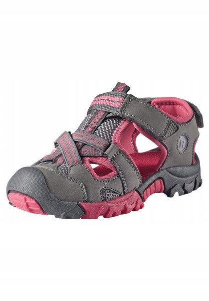 Sandały Reima Rigger szaro-różowe 32