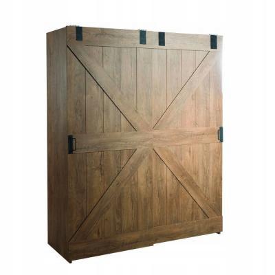 Szafa 206x168 cm drzwi przesuwne VINTAGE