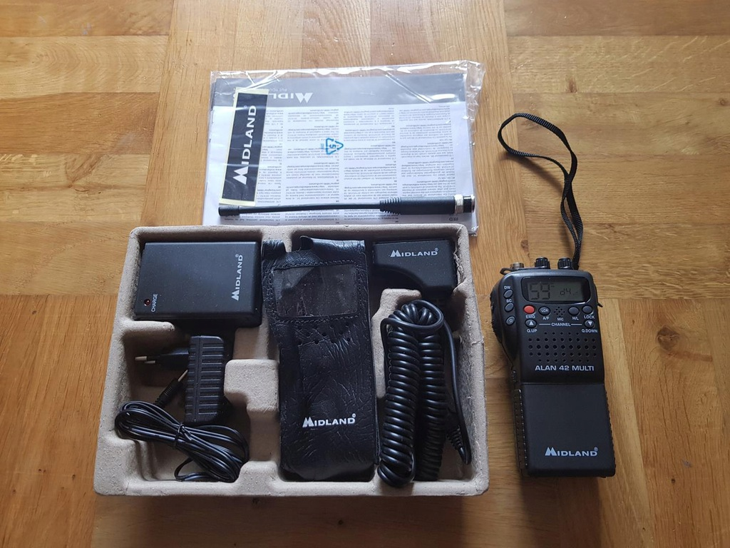 midland alan 42 ds Radio CB ręczne Am/fm
