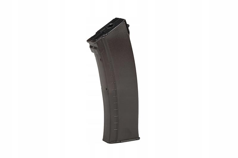 Magazynek low-cap 70 kulek do AK74 - śliwkowy