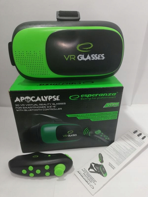 Esperanza OKULARY VR 3D Z KONTROLEREM APOCALYPSE