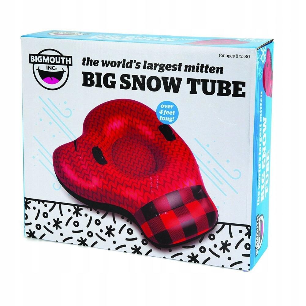 Dmuchane duże wygodne SANKI SNOW ŚLIZGACZ 120cm