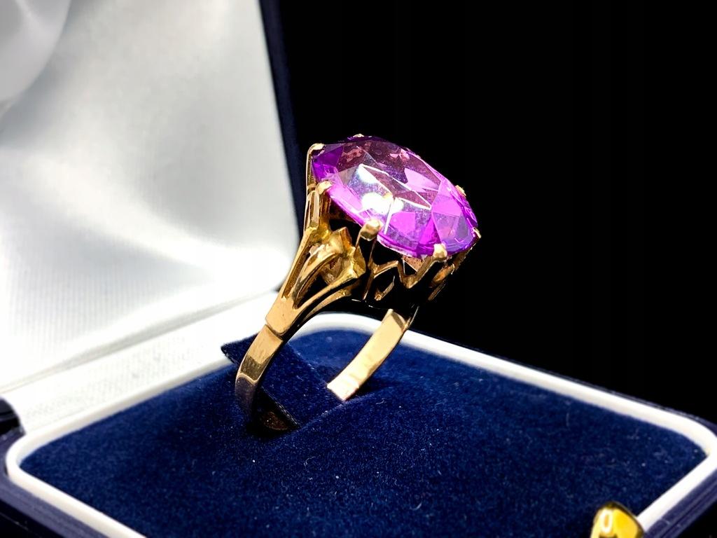 Złoty pierścionek 585 / 14K / 6,3g / R22