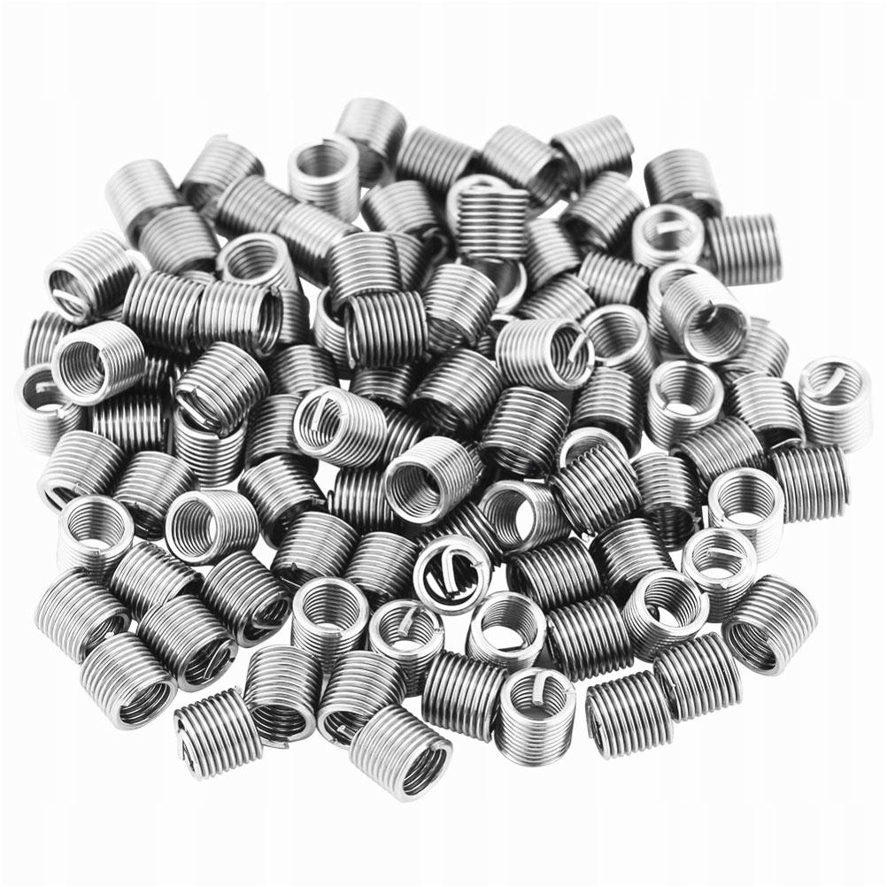 120 sztuk Nakrętki obrotowe ze stali nierdzewnej D