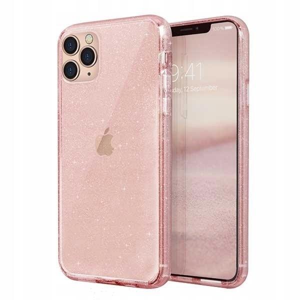 UNIQ etui LifePro Tinsel iPhone 11 Pro Max różowy