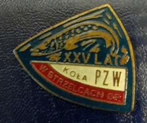 Odznaka wędkarska PZW 25 Strzelce Opolskie