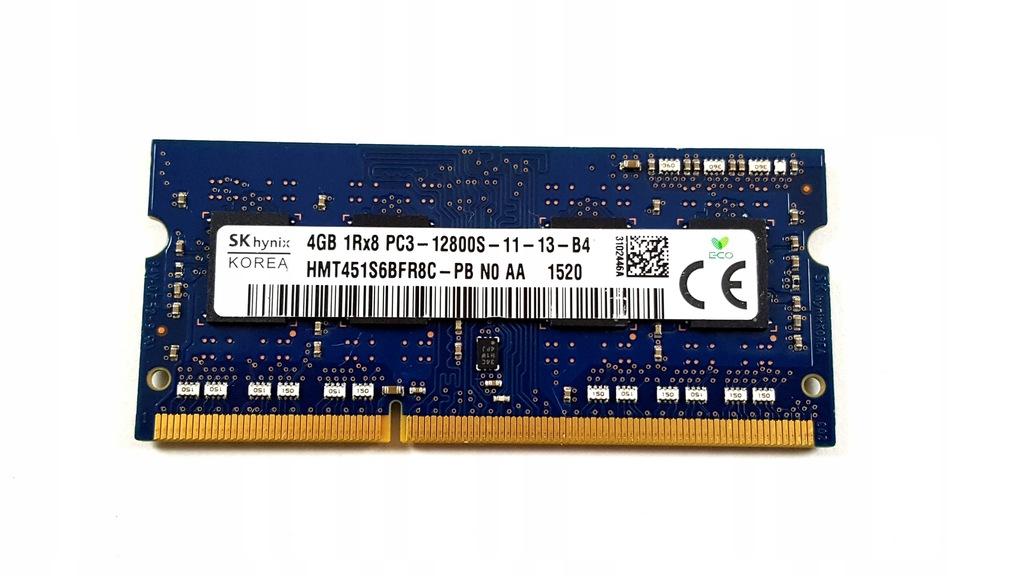 PAMIĘĆ RAM DDR3 SK HYNIX 4GB 1Rx8 PC3 12800S