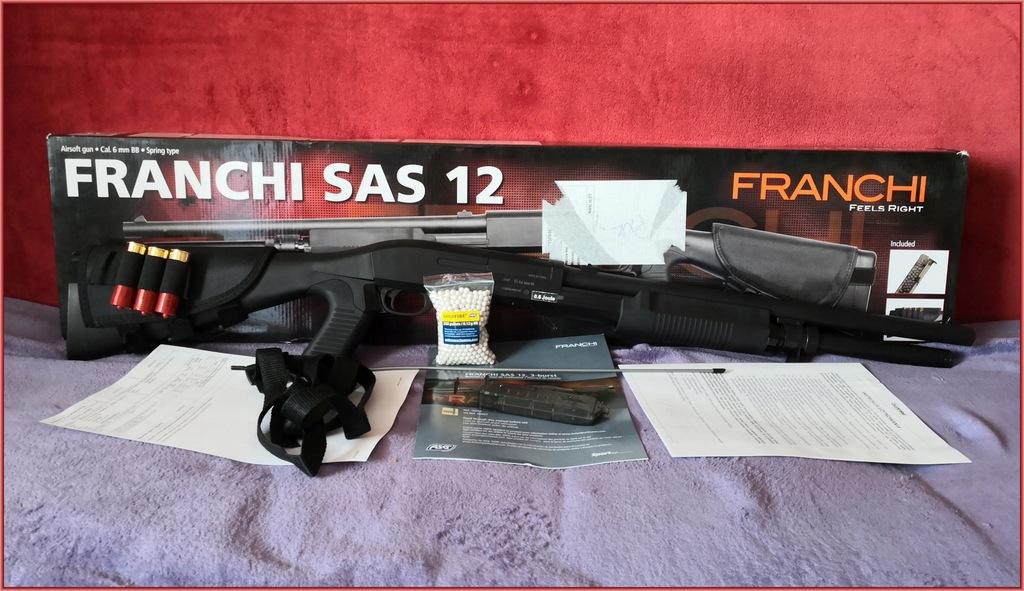 Strzelba ASG Franchi SAS 12 BOX GW FV TRZY LUFY AL