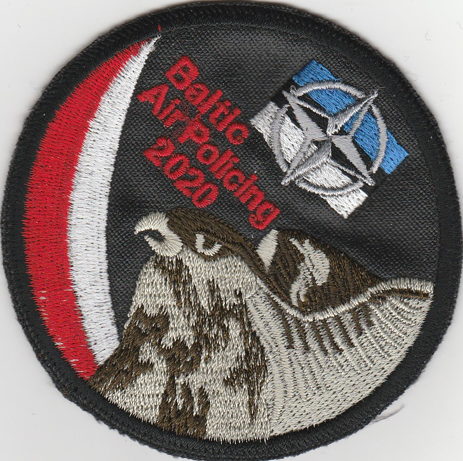 Naszywka dla jednostki lotniczej NATO na Bałtyku