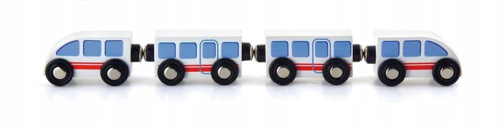Kolejka dla dzieci Pociąg osobowy 3 Wagony Viga