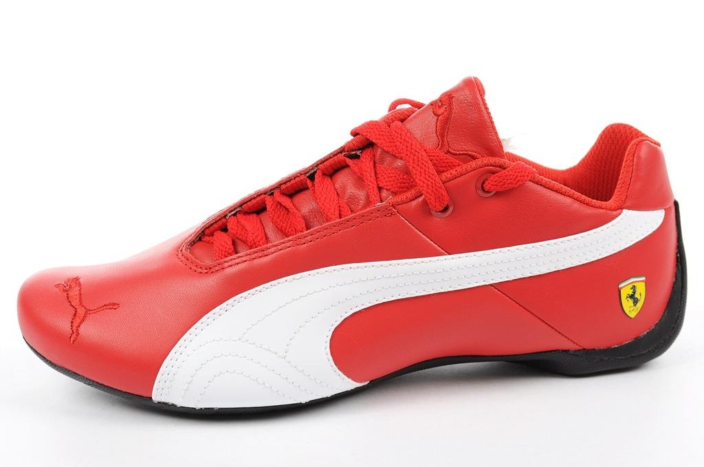 Męskie Puma Puma Future Cat SF OG Biały Czarny Czerwony