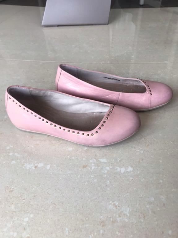 Baleriny Ecco roz. 34