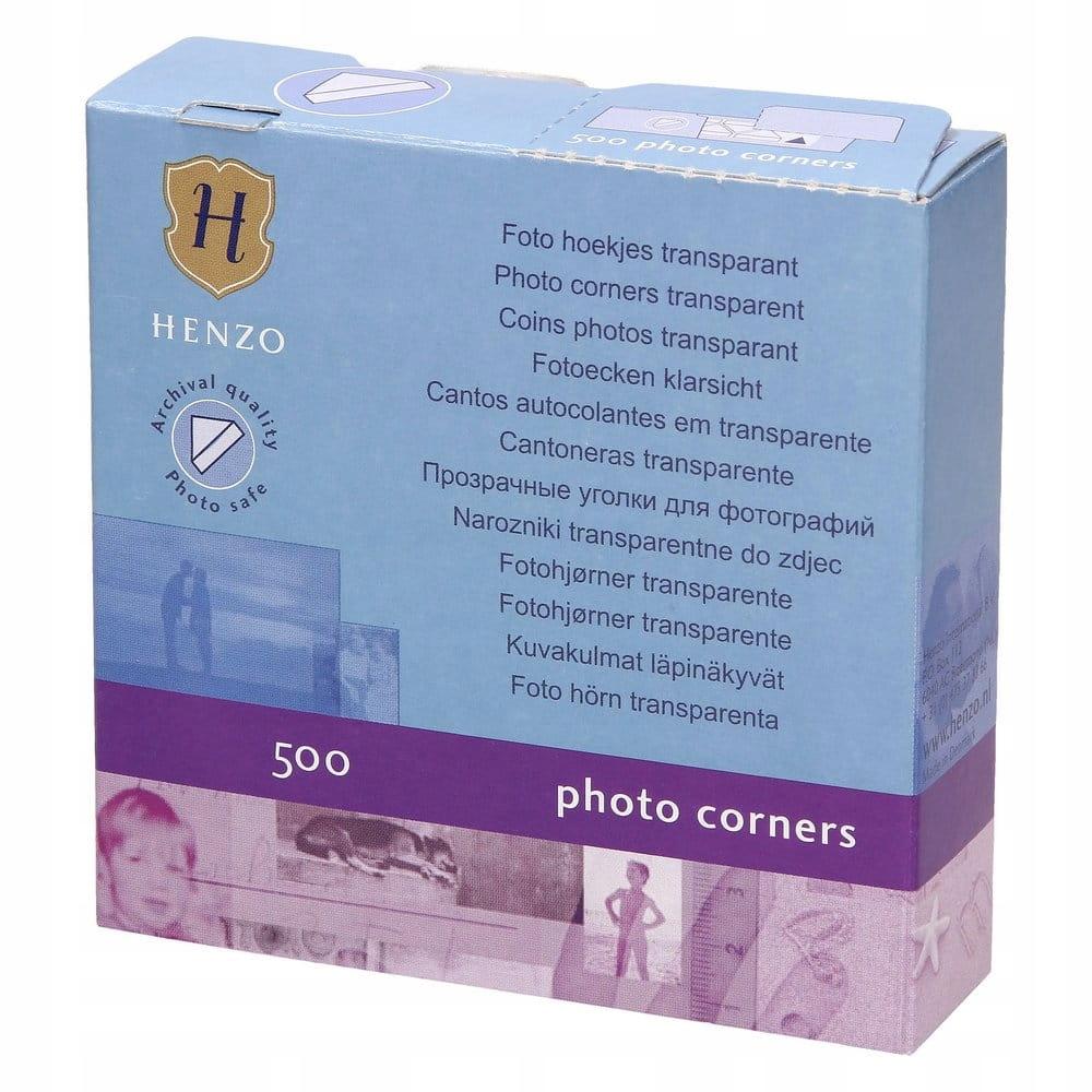 Fotorożki Przeźroczyste 500 szt Henzo