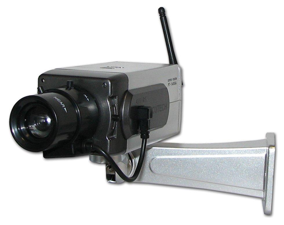 Kamera bezprzewodowa ATRAPA z LED monitoring_CCTV