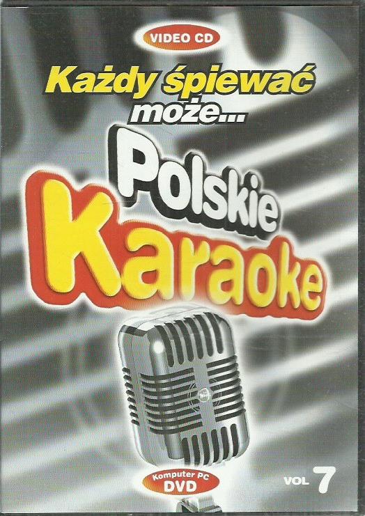 DVD POLSKIE KARAOKE 7