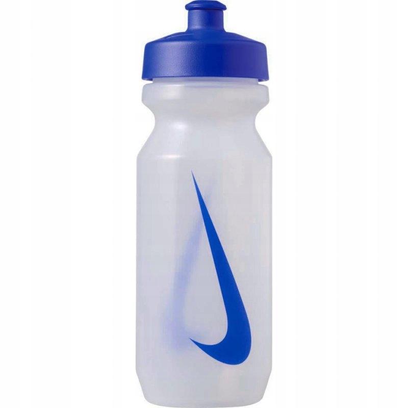 Bidon Nike Big Mouth 650ml przeźroczysto niebieski