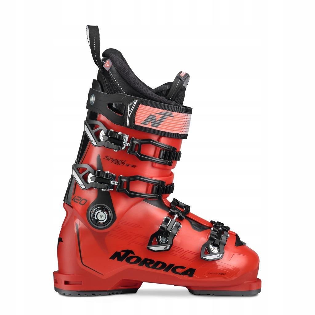 Buty narciarskie Nordica Speedmachine 120 Czerwony