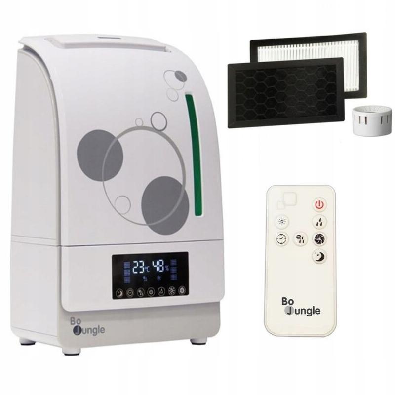 Bo Jungle Cyfrowy nawilżacz-oczyszczacz powietrza