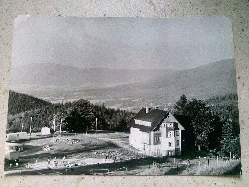 Karpacz, Dom kolonijny 1972 rok.