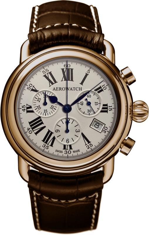 Aerowatch 1942 Chrono Quartz 83926 RO01