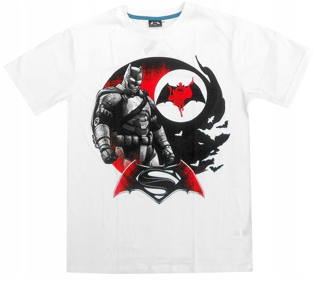 T-shirt męski Batman vs Spiderman : Rozmiar: - XXL
