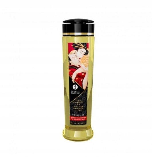Shunga Erotic Massage Oil Romance / Sparkling Stra