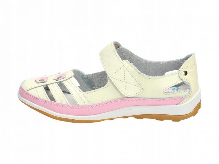 Buty dziecięce, baleriny BADOXX 9035 BE/PN r35
