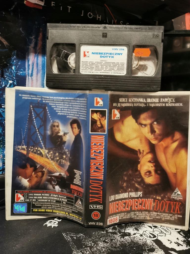 Niebezpieczny dotyk VHS VIM