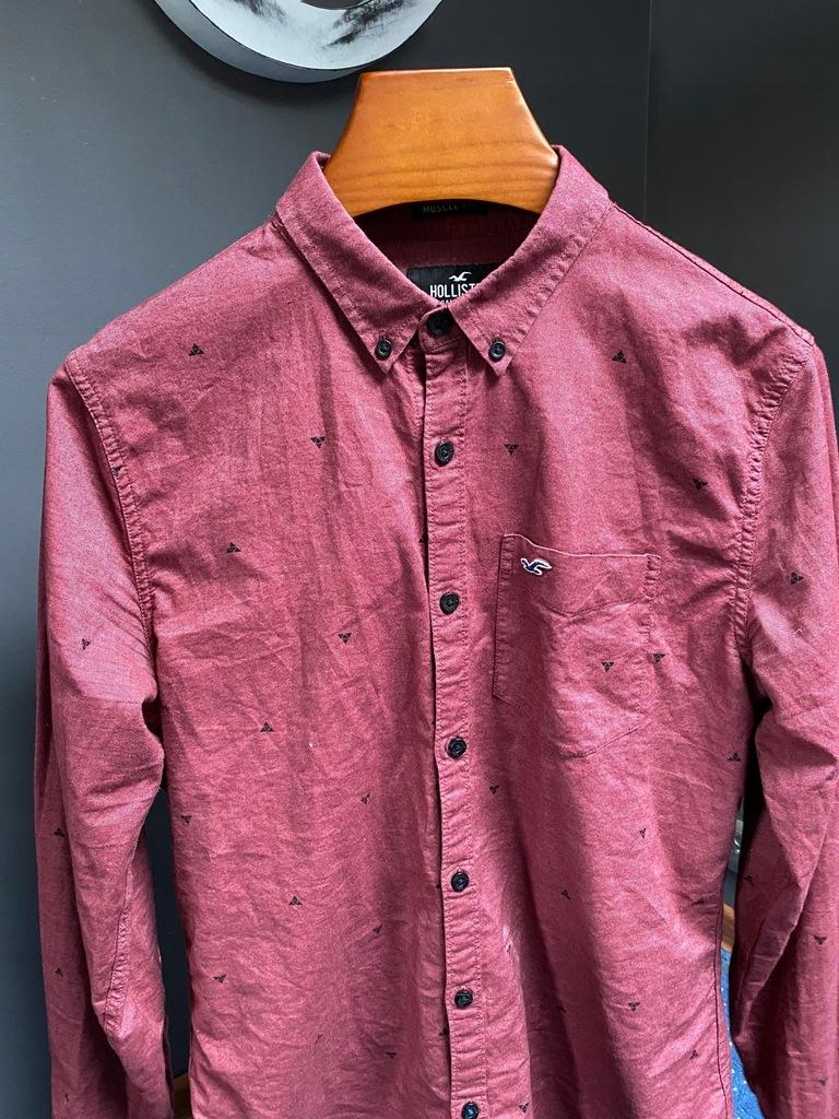 Oryginalna koszula męska Hollister - rozmiar L