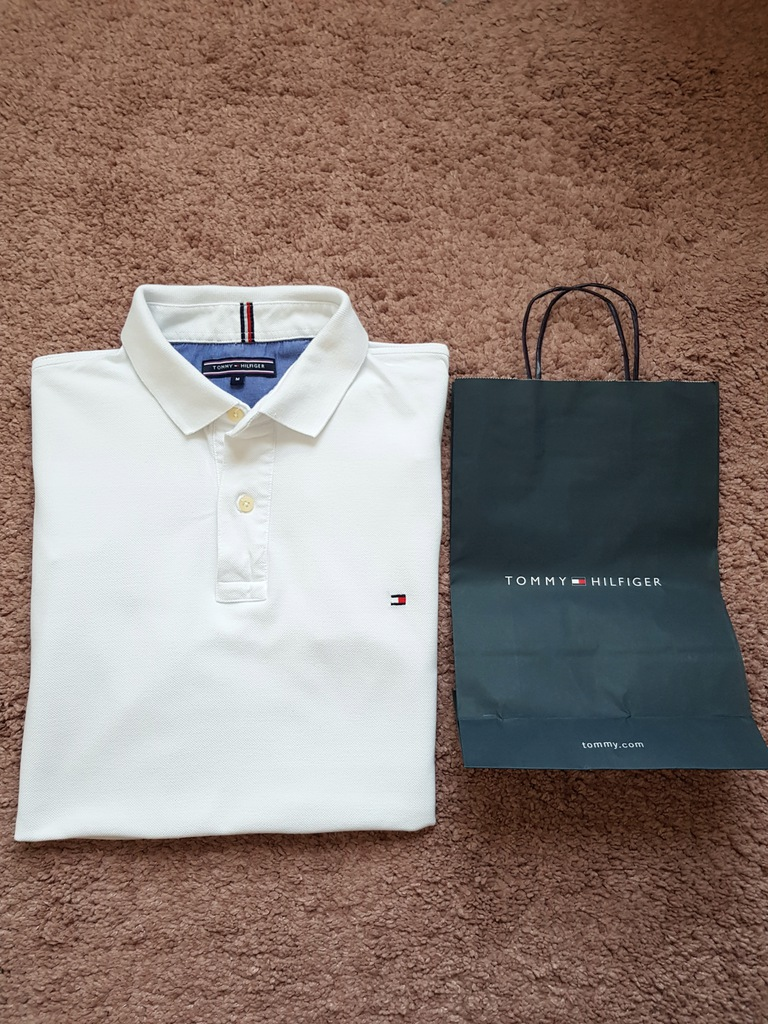 Tommy Hilfiger koszulka polo M
