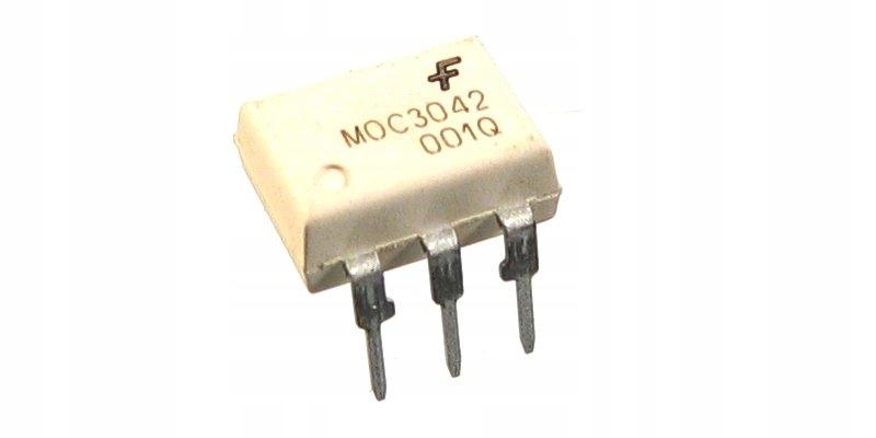 MOC3042 układ scalony - transoptor optotriak