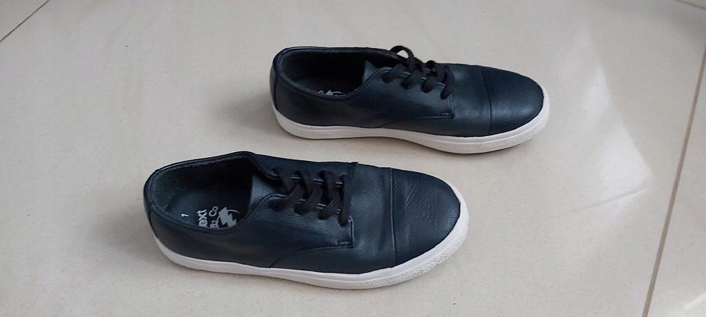 NEXT granatowe buty sportowe pólbuty trampki 33