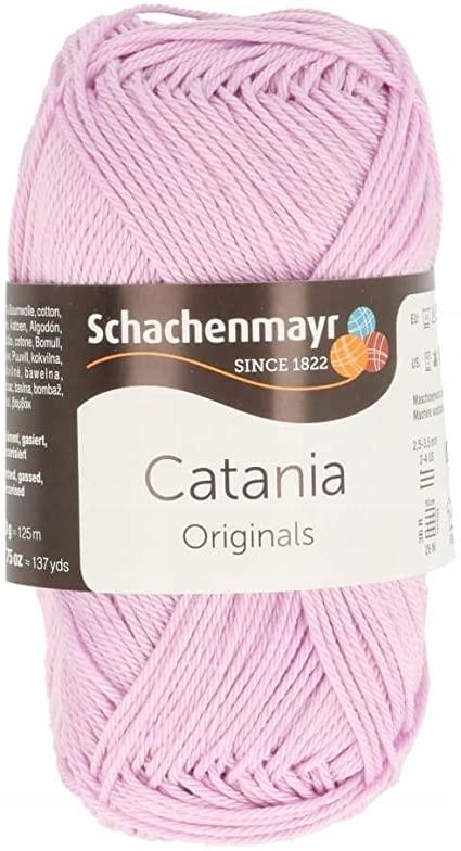 Schachenmayr Catania różowa nić dziewiarska