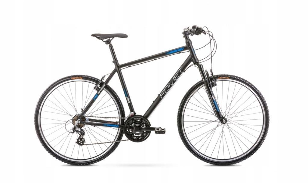 2028407 - 21 L ROMET ORKAN M czarno-niebieski