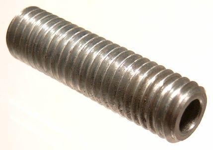 Drążona śruba bez łba M12x6x60 tuleja z gwintem